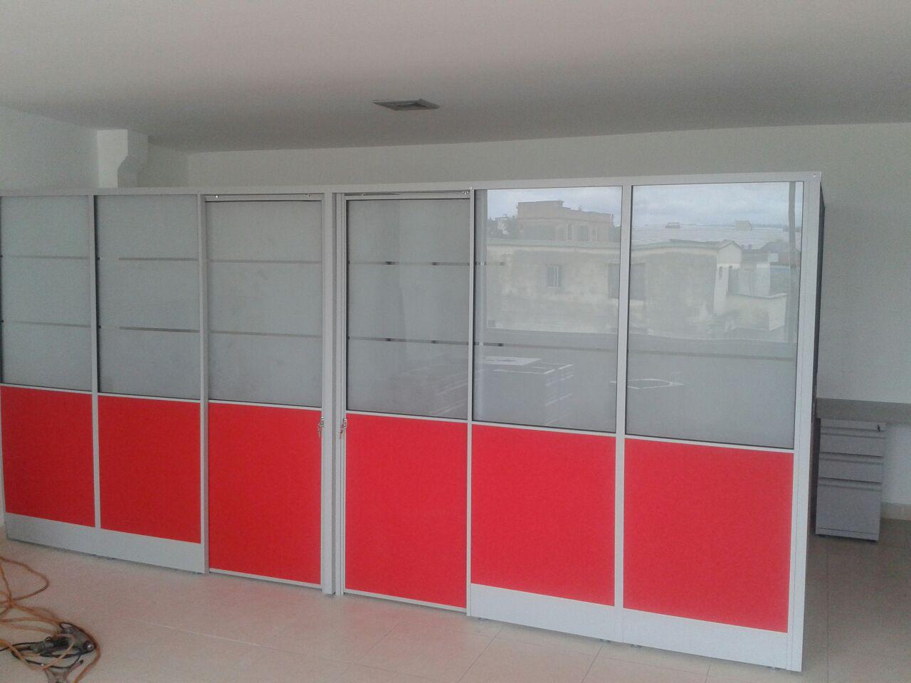 Divisi N En Drywall Y Aluminio Oficinas Ideal Oficinas